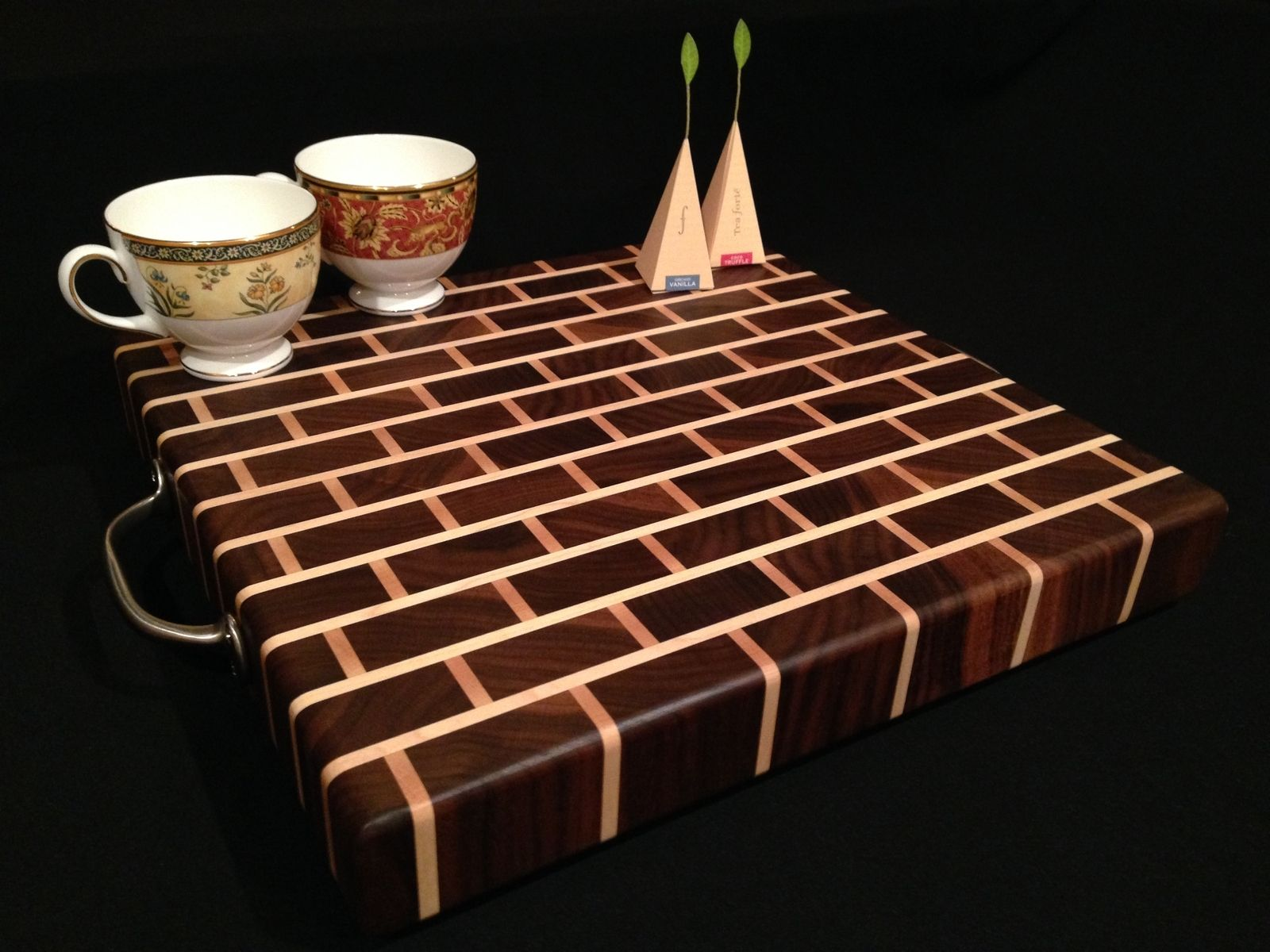 buy a handmade signature design black walnut bar block