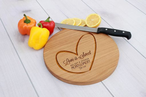Custom Made Personalized Cutting Board, Cutting Board, Wedding Gift – Cbr-Wo-Loveissweetmontgomery