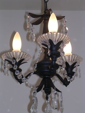 "Custom Made ""Midnight Magic"" Is A Mini Chandeliers"