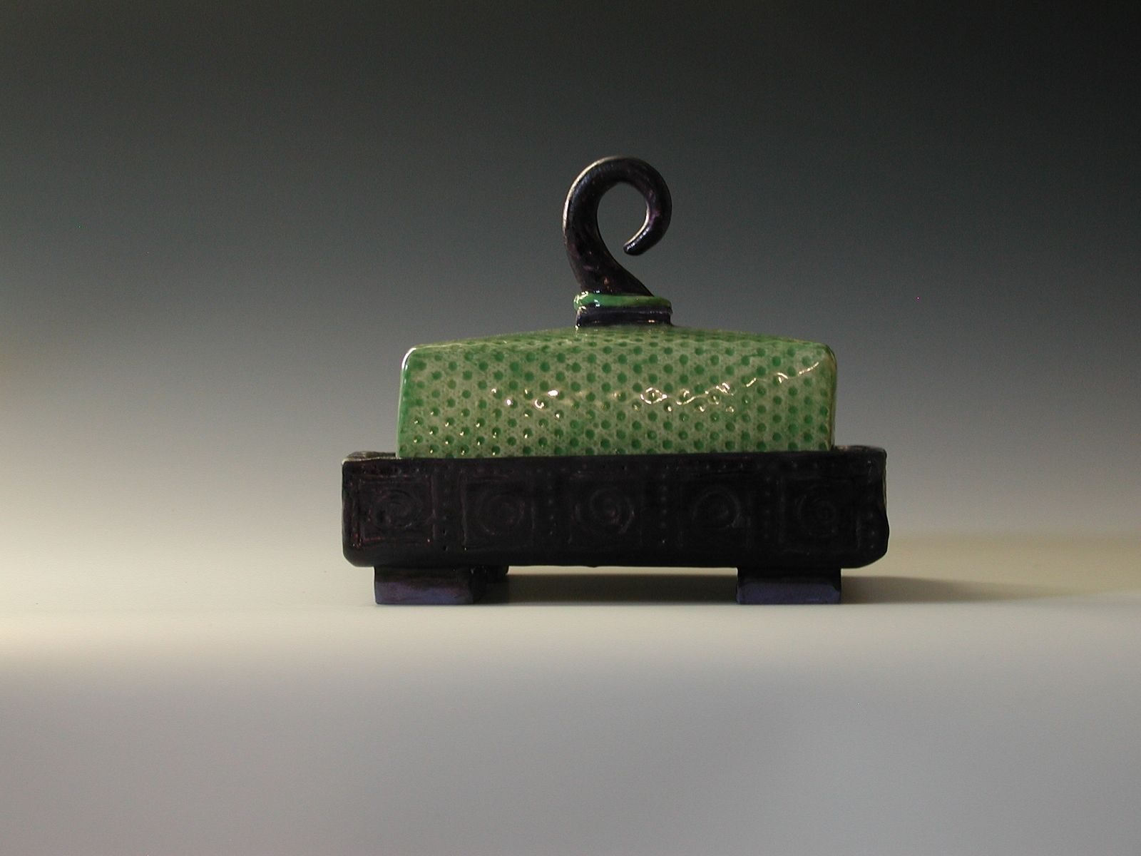 Hand Made Butter Dish By Odyssey Arts Custommade Com