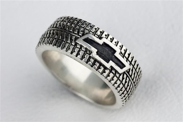 Custom Made Tire Tread Ring