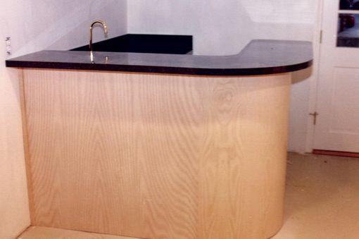 Custom Made Bar And Back Bar Cabinets And Hpl Counter