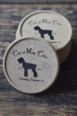 Custom Made Personalized Cork Coasters (Set Of 4)
