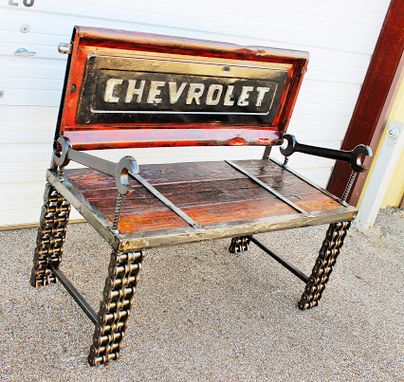 Custom Made Truck Tailgate - Truck Bench - Automobile Furniture