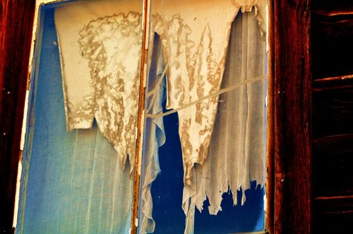 "Custom Made Fine Art Photography ""Drapes In Disrepair''"