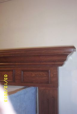 Custom Made Winstons Mantel And Serround