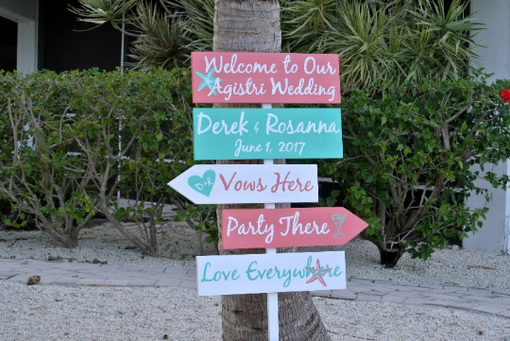 Custom Made Welcome Wedding Sign