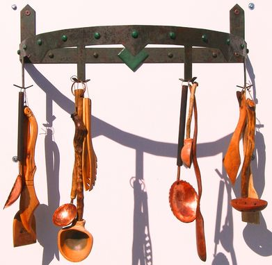 Custom Made Wrought Iron Pot Racks By Rustic Furniture Hut