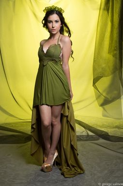 Custom Made Green Fairy Gown