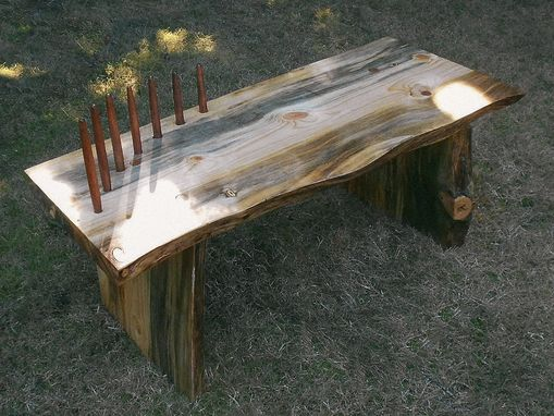 Custom Made Sit Here Bench