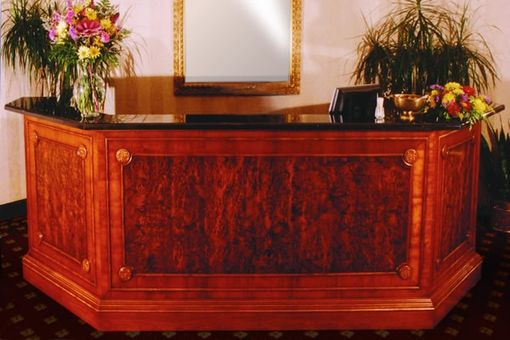 Custom Made Skyline Club Reception Desk