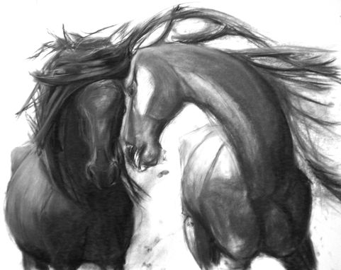 Custom Made Sale - 65% Off - Love And Horse Art Print