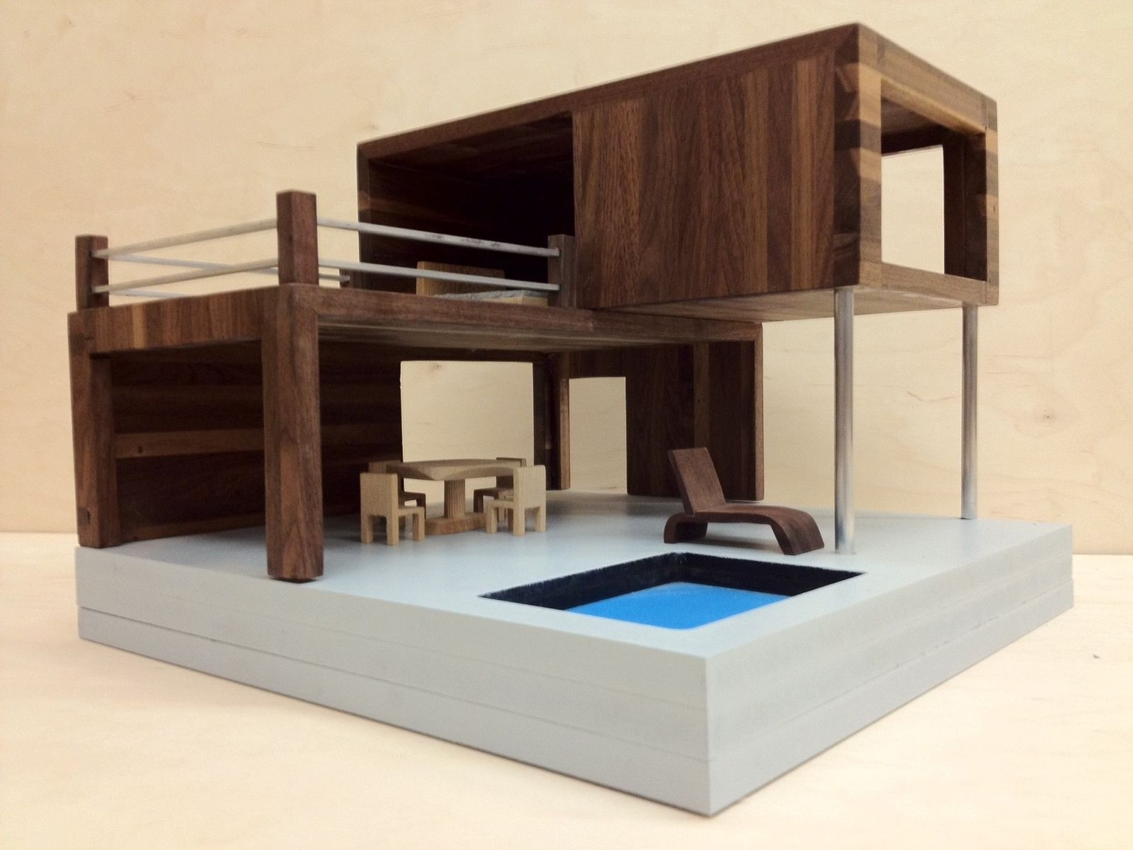 Hand Made Modern Doll House By New8th Furniture