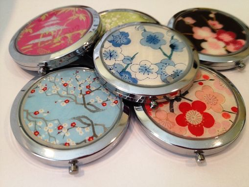 Custom Made Custom Double-Sided Compact Mirrors