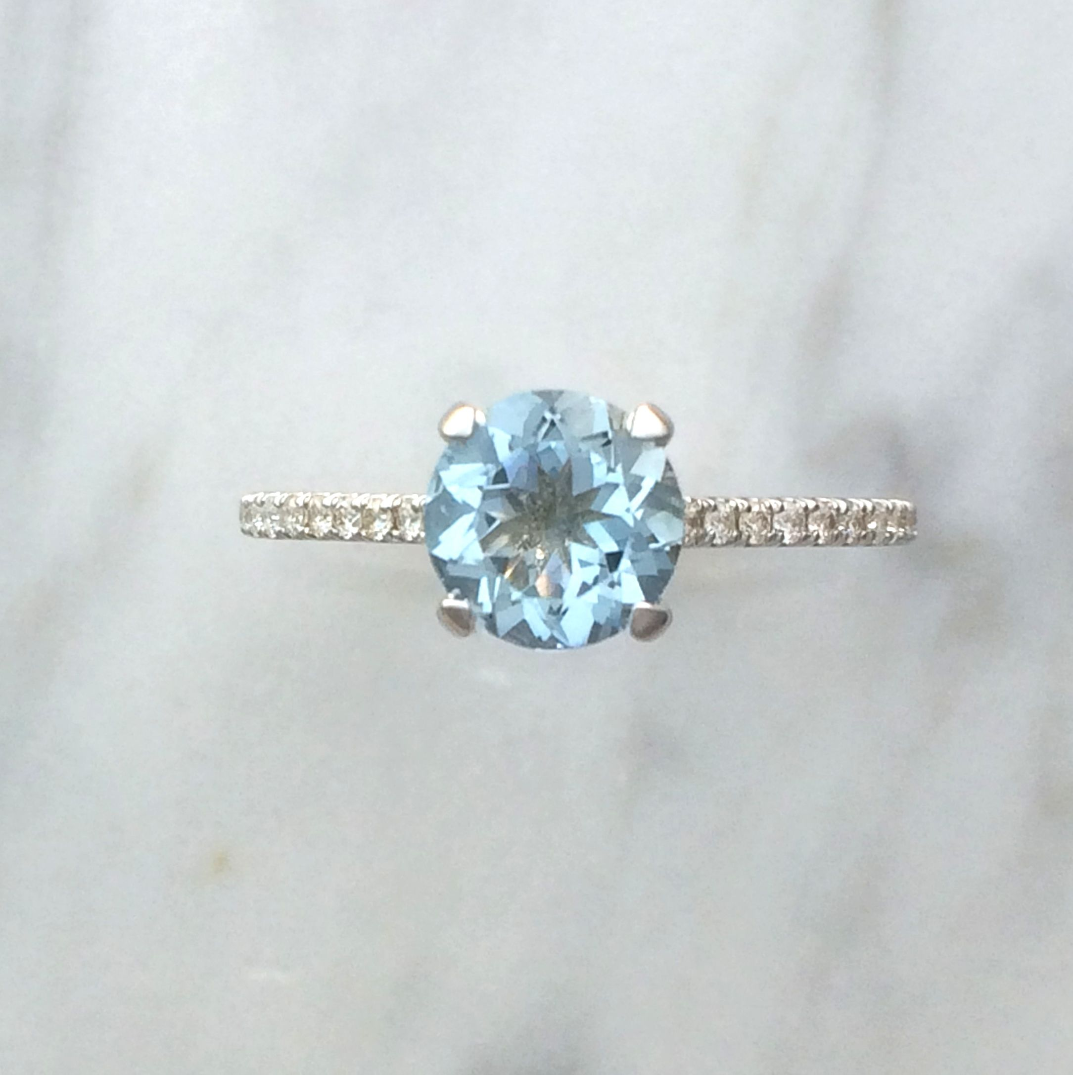 fullxfull ca wedding aqua shop isla diamond engagement marine rings halo morganite by sapphire bluesunflowers