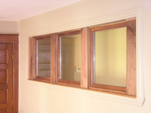 Custom Made Custom Transom Window
