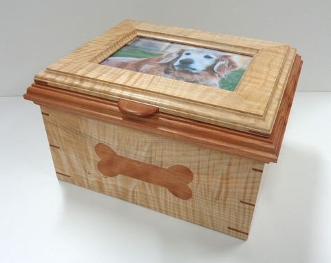 Custom Made Keepsake Box For The Beloved Pet