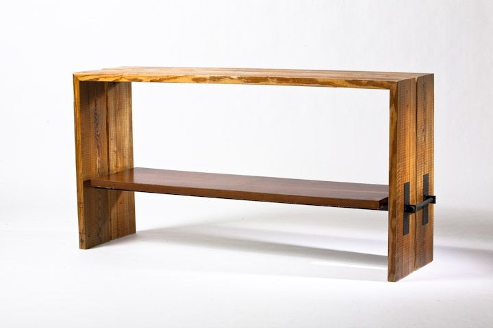 Custom Made Reclaimed Wood Buffet Table