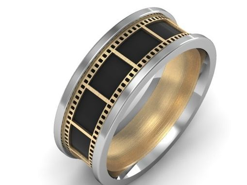 Custom Made Film Strip Ring