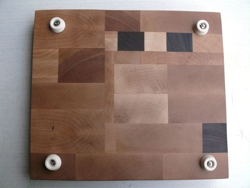 Custom Made Maple, Walnut & Cherry End Grain Cutting Board