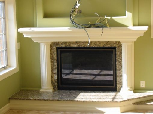 Custom Made Custom Fire Place Mantle