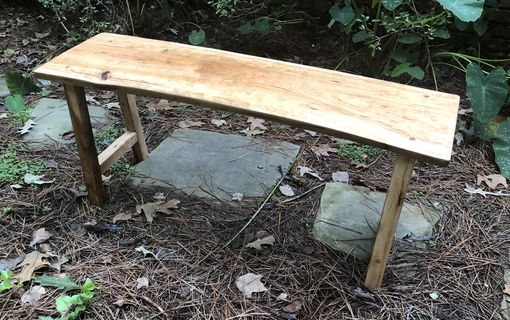 Custom Made Table Rustic Cherry And Pecan With Live Edges