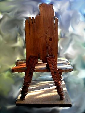 Custom Made Child's Chair From The Fairy-Tale