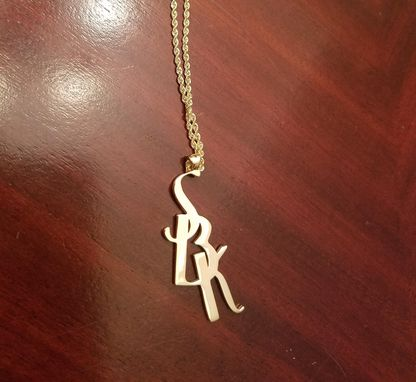Custom Made Name, Letter, Or Word Pendants
