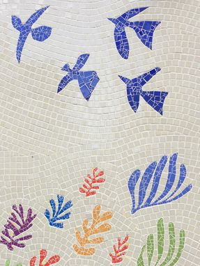 Custom Made Garden Wall Mosaic