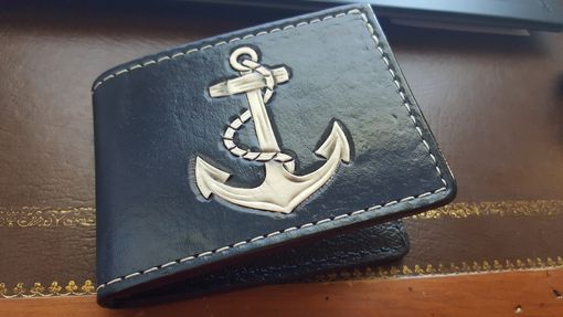 Custom Made Men's Custom Leather Bi-Fold Wallets