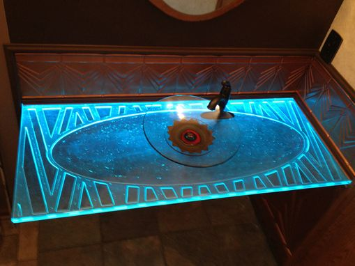 Custom Made Thick Glass Countertop Slabs And Tabletops