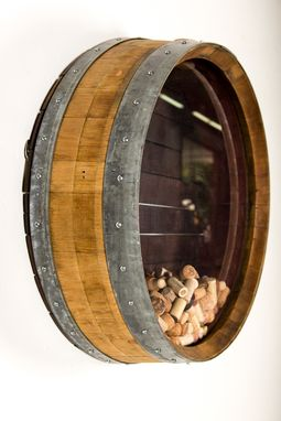Custom Made Kala - Wine Barrel Cork Holder