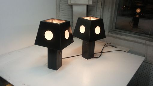 Custom Made Spree Table Lamp Pair