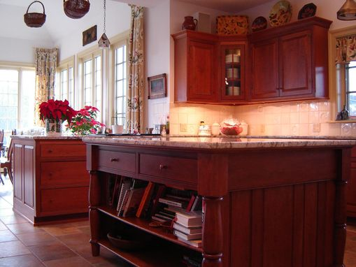 Custom Made Cherry Farmhouse Kitchen