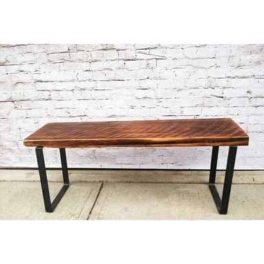 Custom Made Salvaged Wood Coffee Table Or Bench