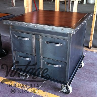 Custom Made Ellis Filing Cabinet