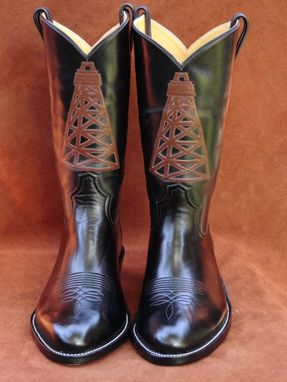 Custom Made Oil Rig Boots
