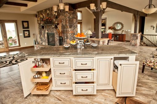 Custom Made Traditional Hickory Kitchen
