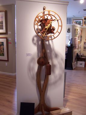 Custom Made In The Gallery Clock