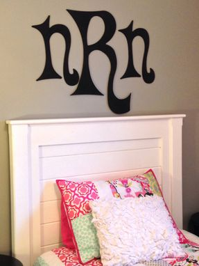 Custom Made Twin Headboard In White