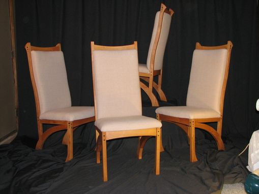 Custom Made Upholstered Dining Chairs