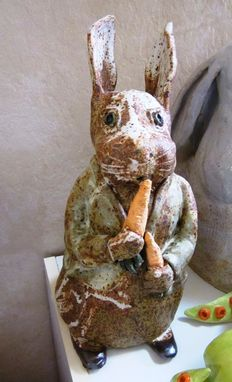 Custom Made Ceramic Peter Rabbit