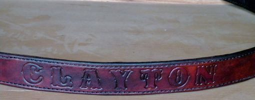 Custom Made Custom Belt