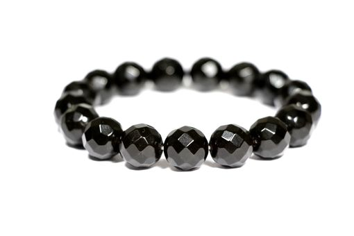Custom Made Luxury Black - Faceted Baltic Amber Bracelet