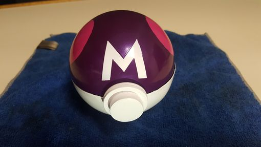 Custom Made Pokemon Ball Ring Box