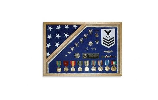 Custom Made Military Shadow Box 18x24