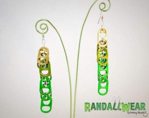 Custom Made Upcycled Soda Pop Tab Earrings