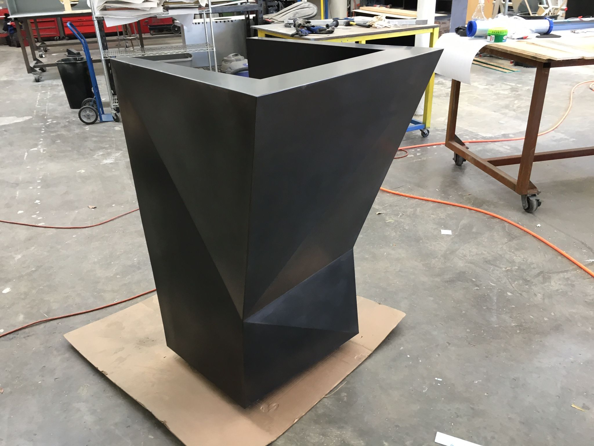 Buy a Custom Made #38 Abstract Hostess Stand And Podium ...