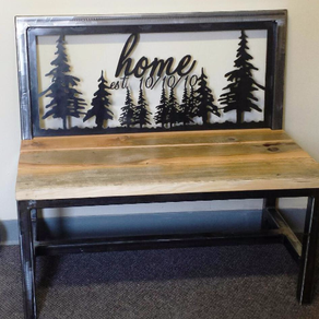 Custom Entry Bench Custom Entry Benches Custom Hall