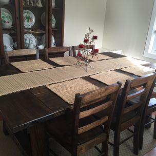 Rustic Dining Room Table By